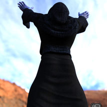 Cloisters of Darkness: Monk Robes for Genesis 8 Male image 7
