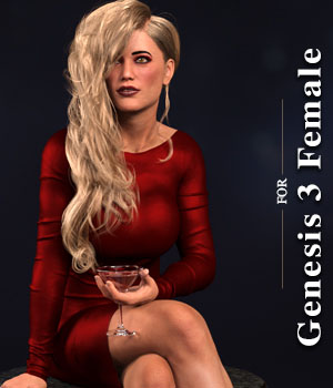 Chameleon ROse for Genesis 3 Female 3D Figure Assets zoro_d
