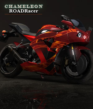 Chameleon Roadracer 3D Models zoro_d