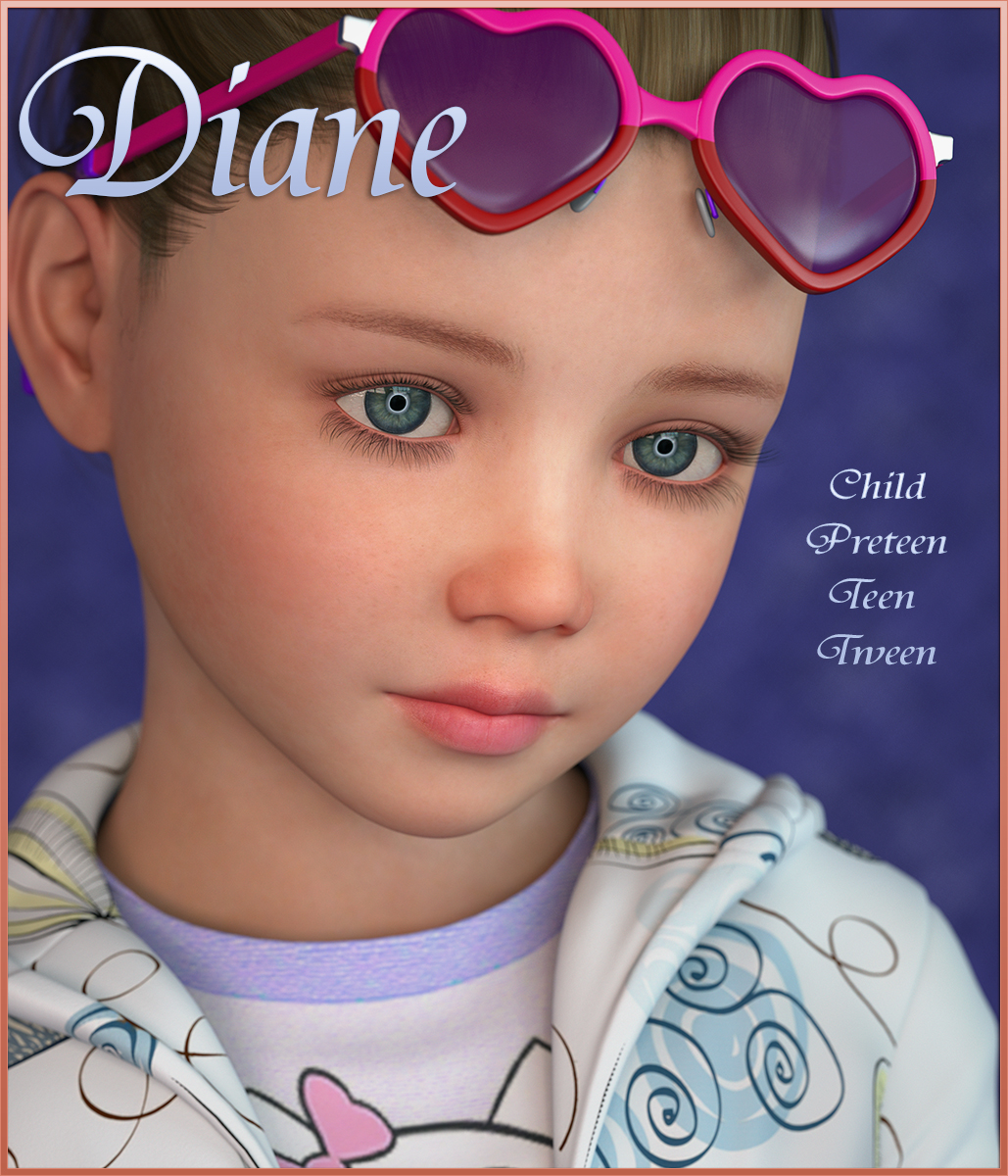 Diane for G3 & G8 Female by Angel_Wings