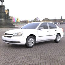 Chevrolet Malibu 2005 - 3ds and obj - Extended License image 2