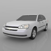 Chevrolet Malibu 2005 - 3ds and obj - Extended License image 4