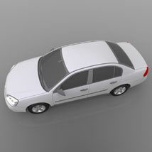 Chevrolet Malibu 2005 - 3ds and obj - Extended License image 5