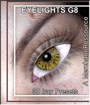 Eyelights- G8F- MR-2 2D Graphics Merchant Resources LUNA3D