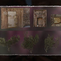 3D Scenery: Overgrown Shelter image 5
