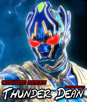 Thunder Dean for Genesis8 Male 3D Figure Assets JerryJang