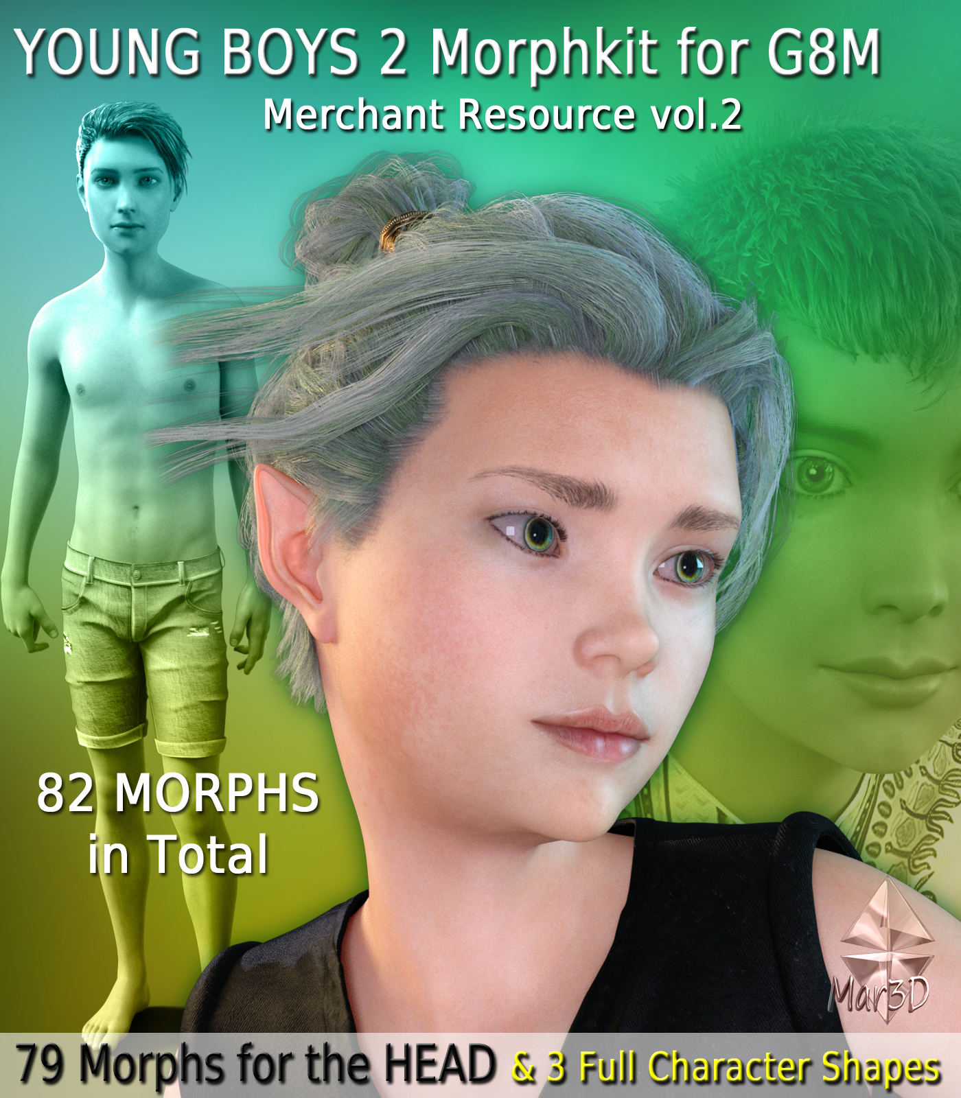 Young Boys 2 Morphkit for G8M - Merchant Resource 2