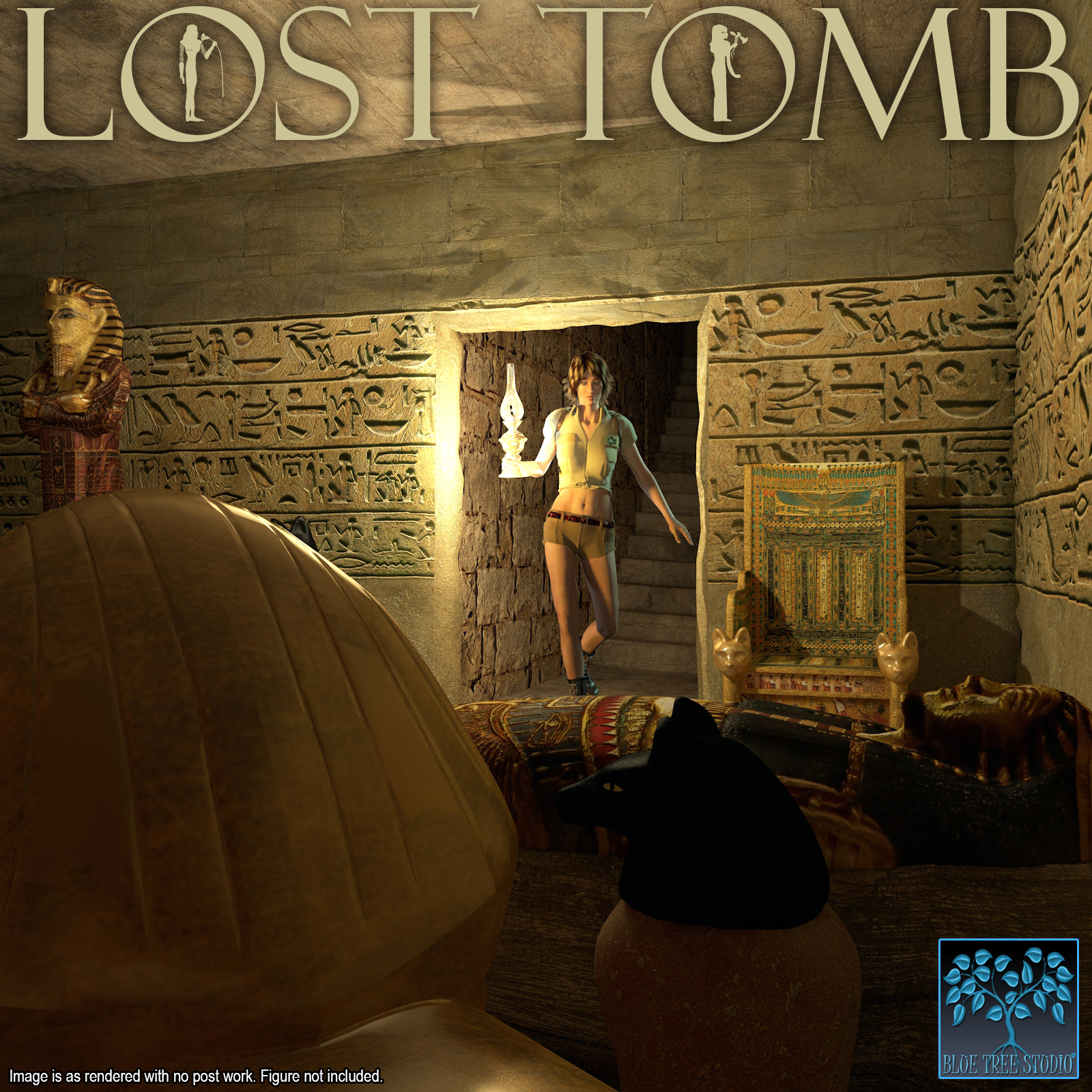 Lost Tomb for Poser by BlueTreeStudio