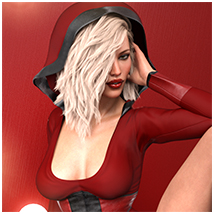 Z Flirtatious - Poses, Partials and Expressions for Genesis 3 and 8 Female image 1