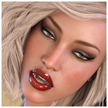Z Flirtatious - Poses, Partials and Expressions for Genesis 3 and 8 Female image 7