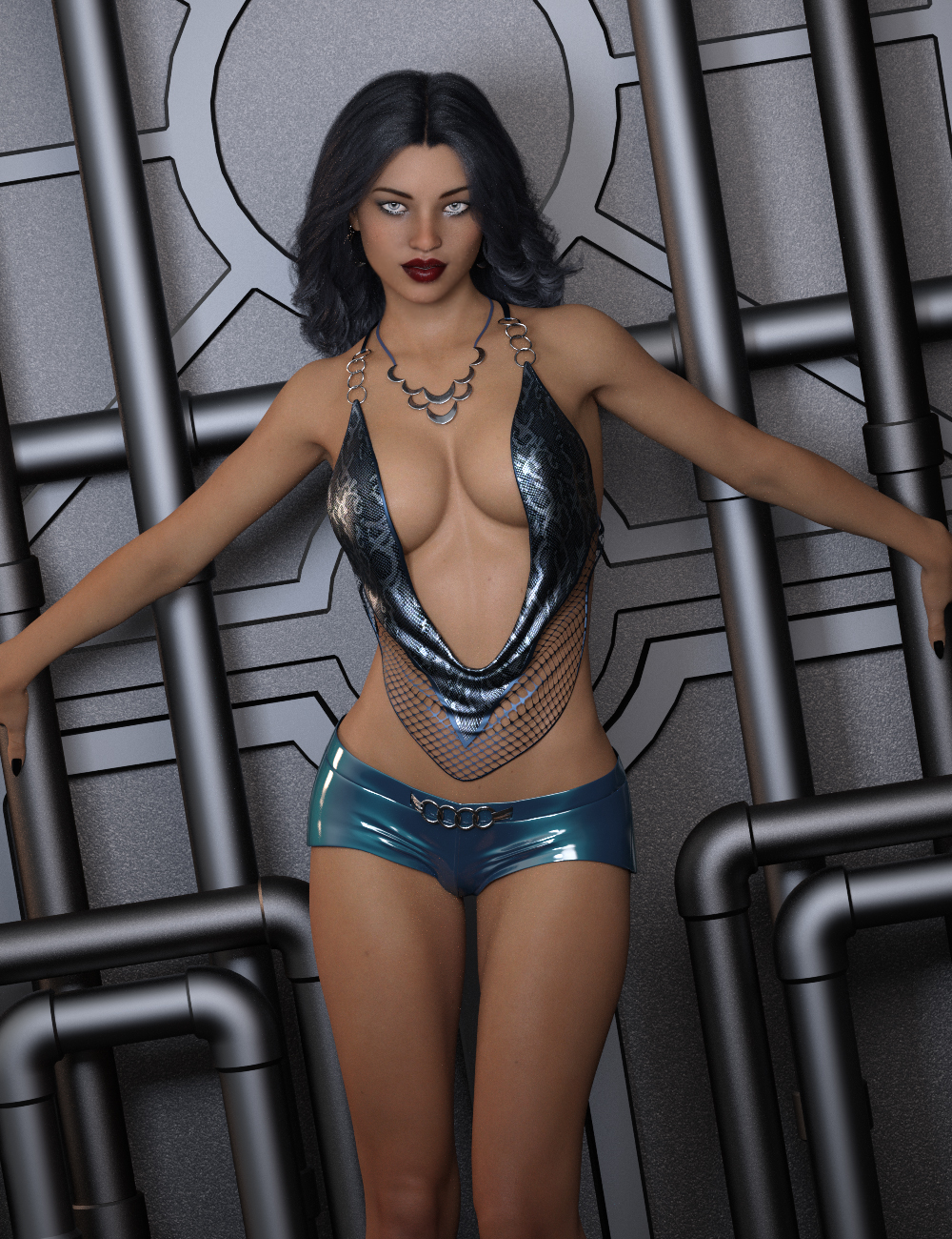 InStyle - Hot Strappy for Genesis 8 Females