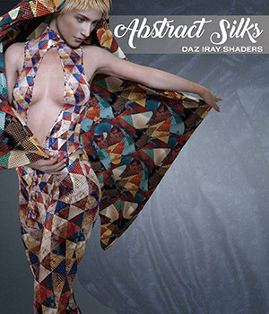 Daz Iray - Abstract Silks 2D Graphics Merchant Resources Atenais