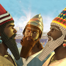 Assyrian Headdress for Genesis 8 Males image 3