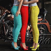 WM's Multi Color Jeans - Textures for Exnem Jeans Solution for G3 Female image 6