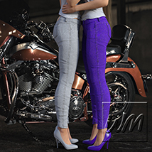 WM's Multi Color Jeans - Textures for Exnem Jeans Solution for G3 Female image 8