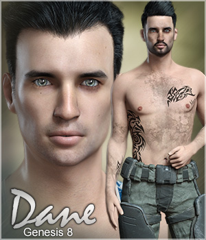 FWSA Dane for Genesis 8 Male 3D Figure Assets Sabby