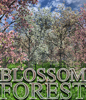 Flinks Blossom Forest 3D Models Flink