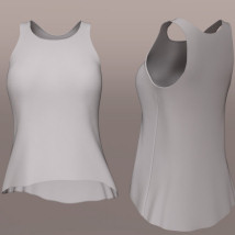 Small Top I for Genesis 8 Female image 8