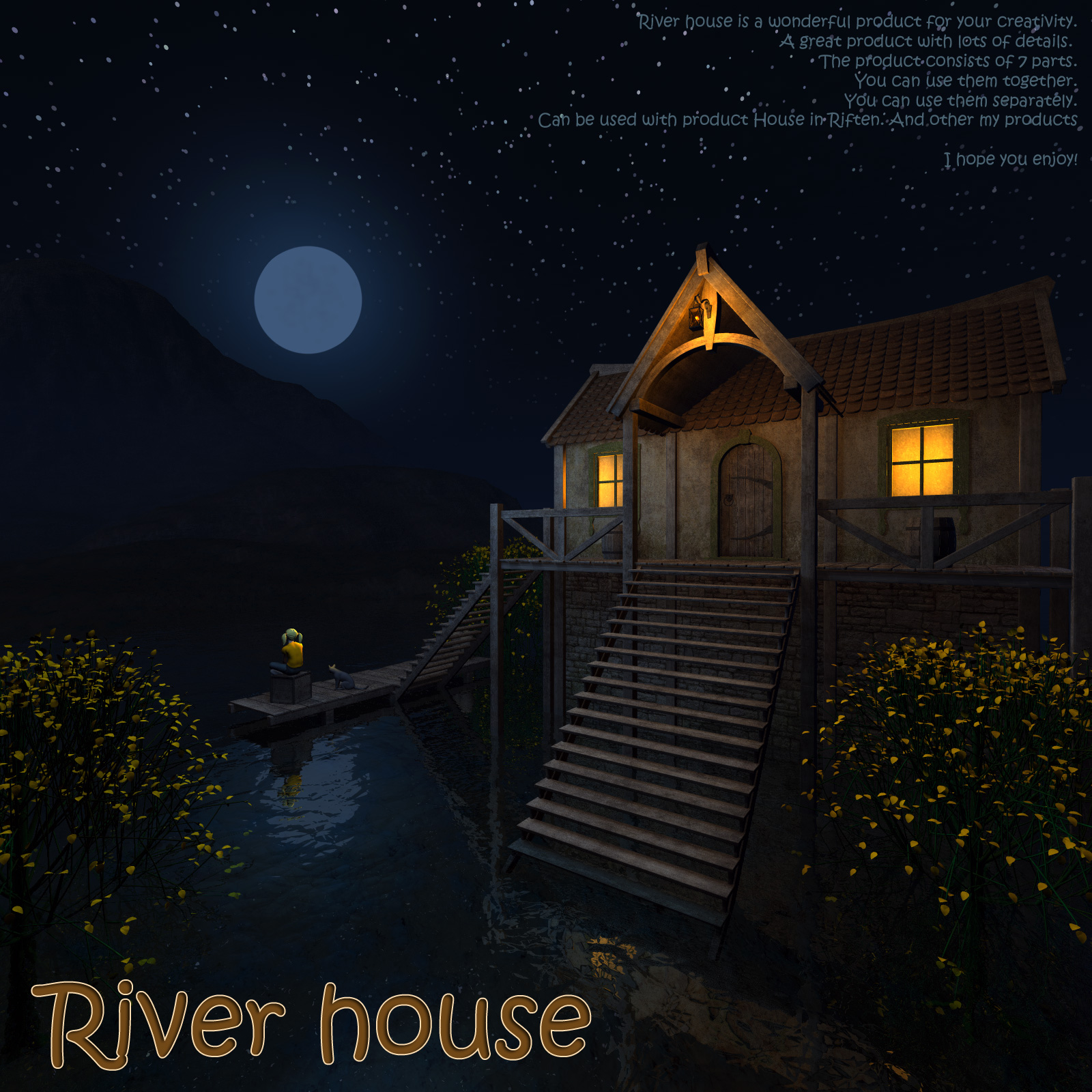 River house by 1971s