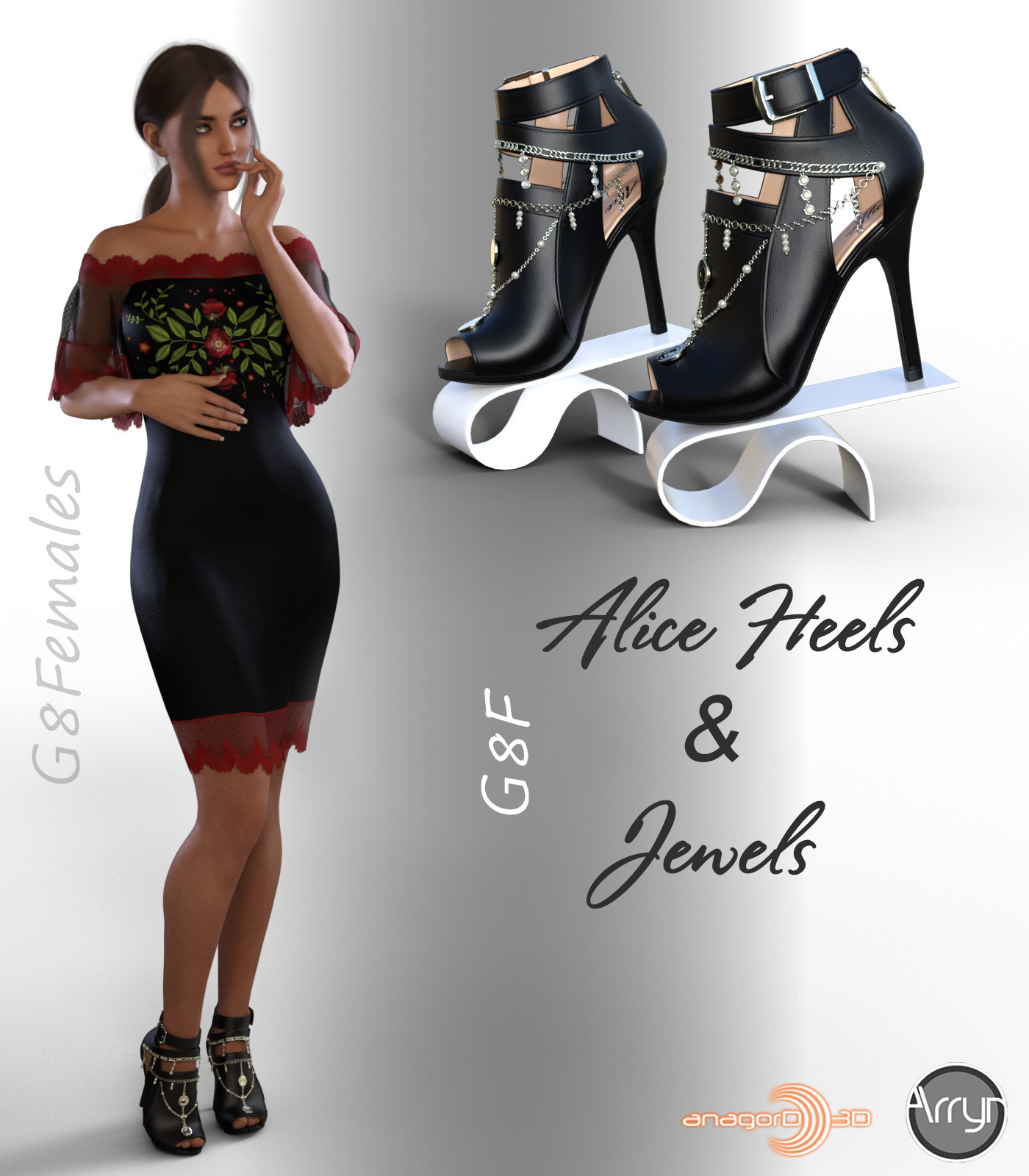 Alice Heels and Jewels G8F by Arryn