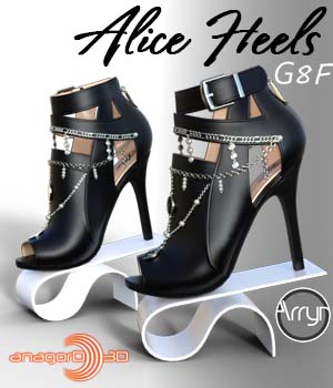 Alice Heels and Jewels G8F 3D Figure Assets Arryn