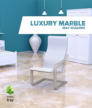 Luxury marble :: Daz IRAY Shaders 3D Figure Assets Merchant Resources Cyrax3D
