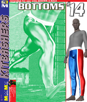 MMKBG3M Bottoms 014 3D Figure Assets MightyMite