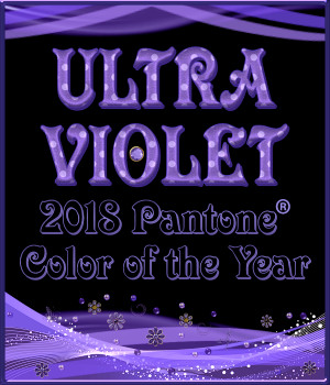 2018 Pantone Color of the Year ULTRA VIOLET PS Layer Styles 2D Graphics Merchant Resources fractalartist01