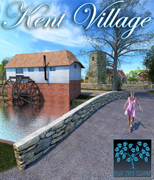 Kent Village 3D Models BlueTreeStudio