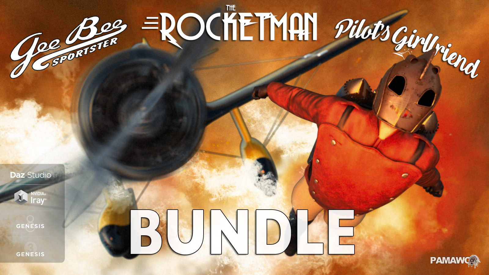 Rocket Bundle for DS by pamawo