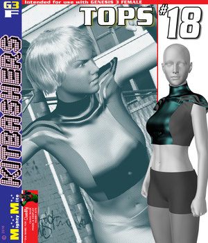 MMKBG3F Tops 018 3D Figure Assets MightyMite