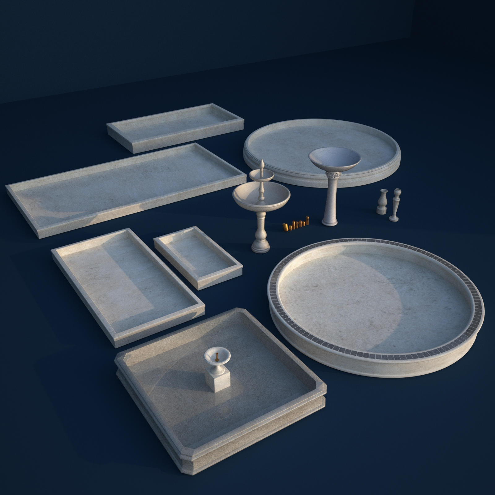 Fountain Maker Kit - Basins And Fountains - Extended License