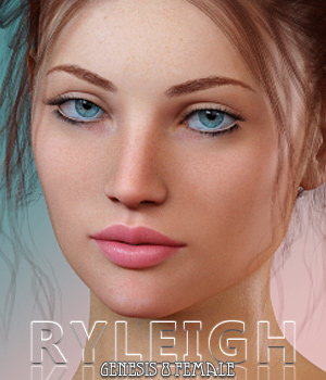 Ryleigh For Genesis 8 Female 3D Figure Assets Freja