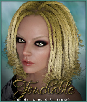 Touchable Twist Braids 3D Figure Assets -Wolfie-