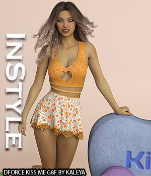 InStyle - dforce Kiss Me G8F 3D Figure Assets -Valkyrie-