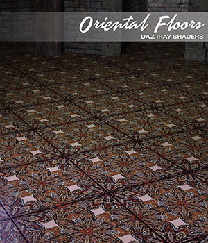 Daz Iray - Oriental Floors 2D Graphics Merchant Resources Atenais