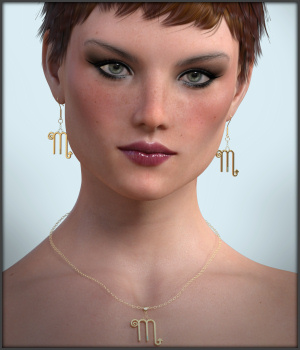 What's Your Sign G3 G8 DAZ 3D Figure Assets -Wolfie-