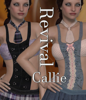 Revival for Callie V4_Poser 3D Figure Assets JudibugDesigns