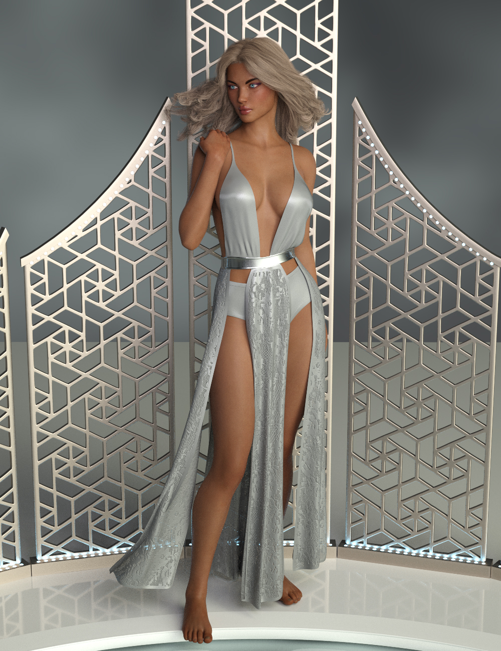 InStyle - dForce Tempest Dress for Genesis 8 Females