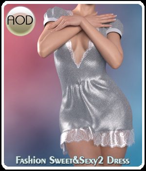 Fashion Sweet & Sexy2 Dress 3D Figure Assets ArtOfDreams
