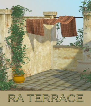 RA Terrace 3D Models RAGraphicDesign