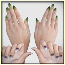 VYK Nails Resource for G8F image 1
