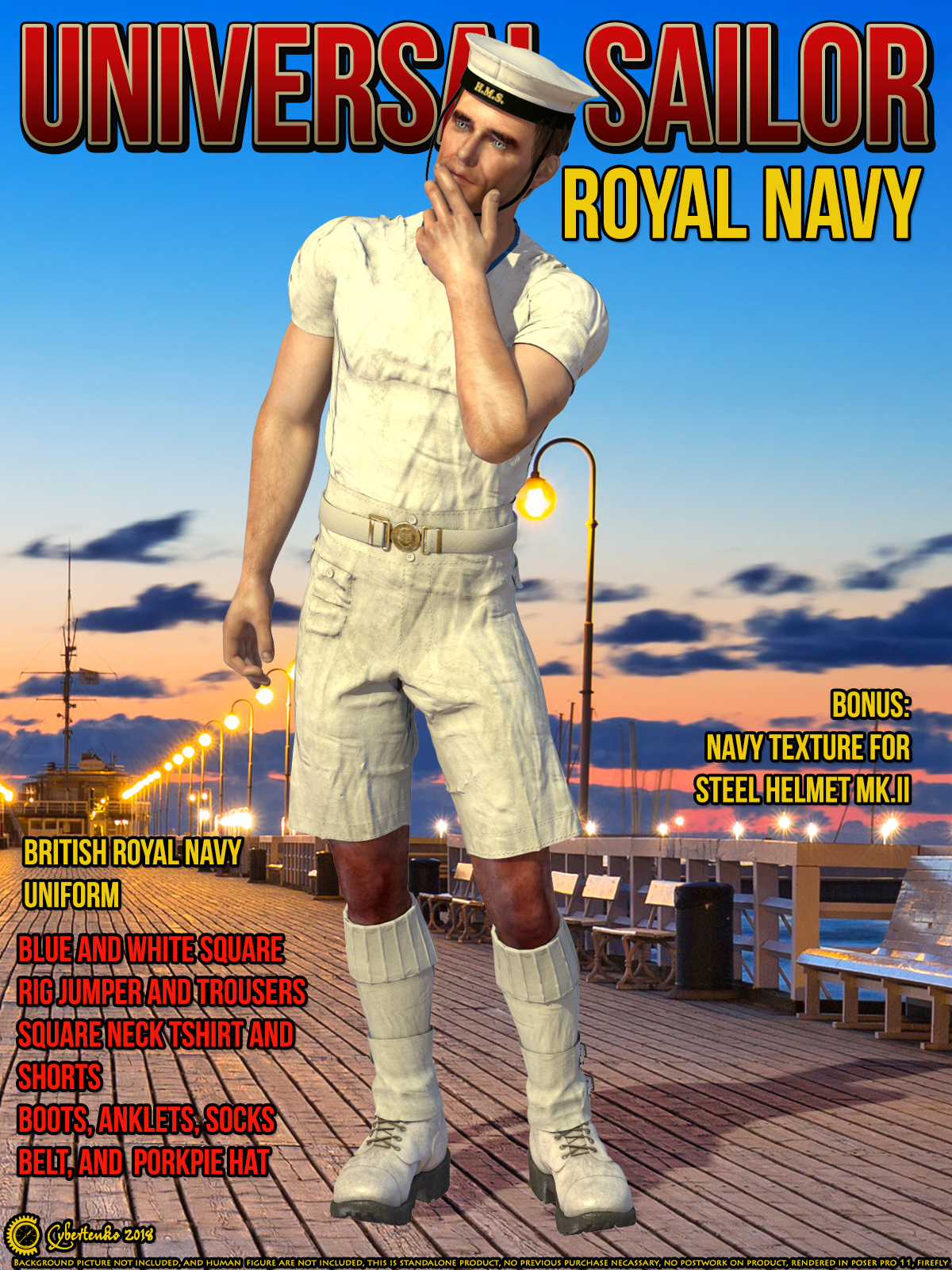Universal Sailor - Royal Navy by Cybertenko