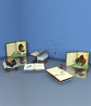 Book Whimsey Kit For Vue 3D Models forester