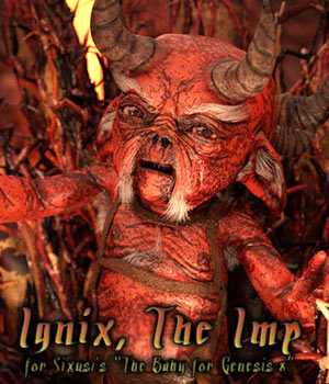 Ignix The Imp 3D Figure Assets sixus1
