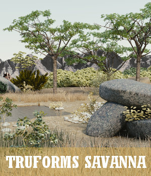 TruForms Savanna 3D Models TruForm