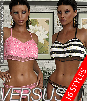 VERSUS - EasyTank for Genesis 3 Females