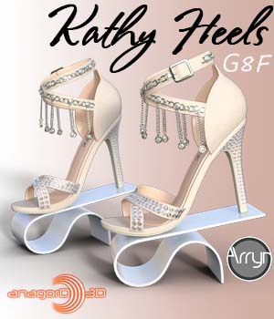 Kathy Heels and Jewel G8F 3D Figure Assets Arryn