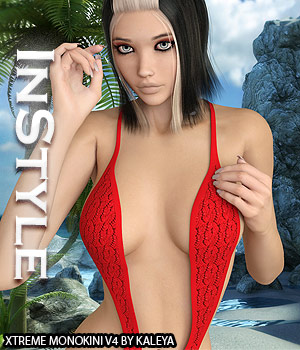 InStyle - Xtreme Monokini V4 3D Figure Assets -Valkyrie-