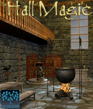 Hall of Magic 3D Models BlueTreeStudio